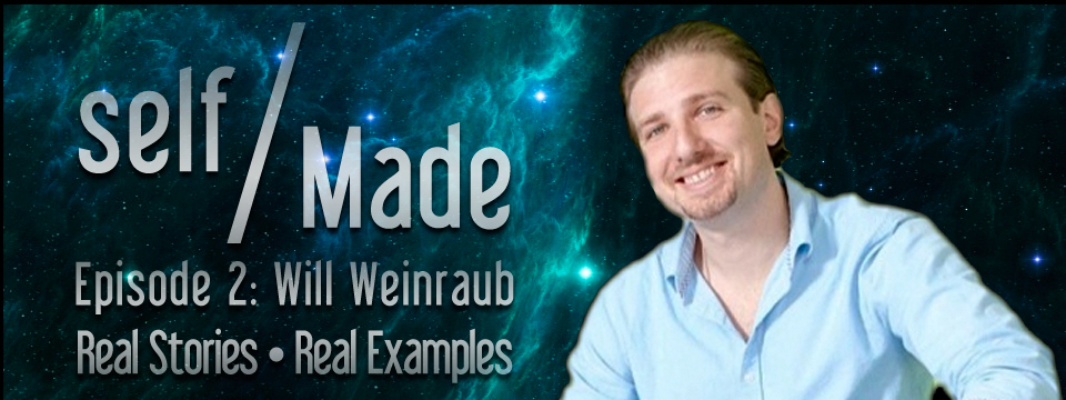 Will Weinraub of Live Ninja – Self/Made