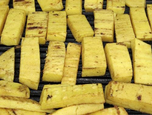 Gli scagliozzi di polenta alla barese