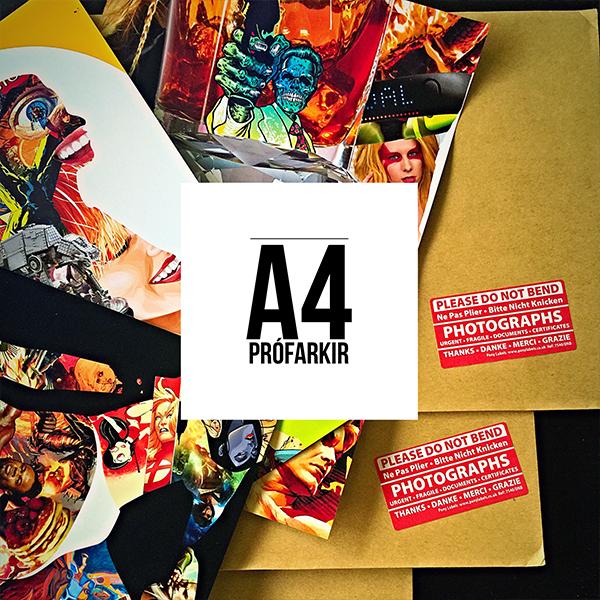A4 Prófarkir