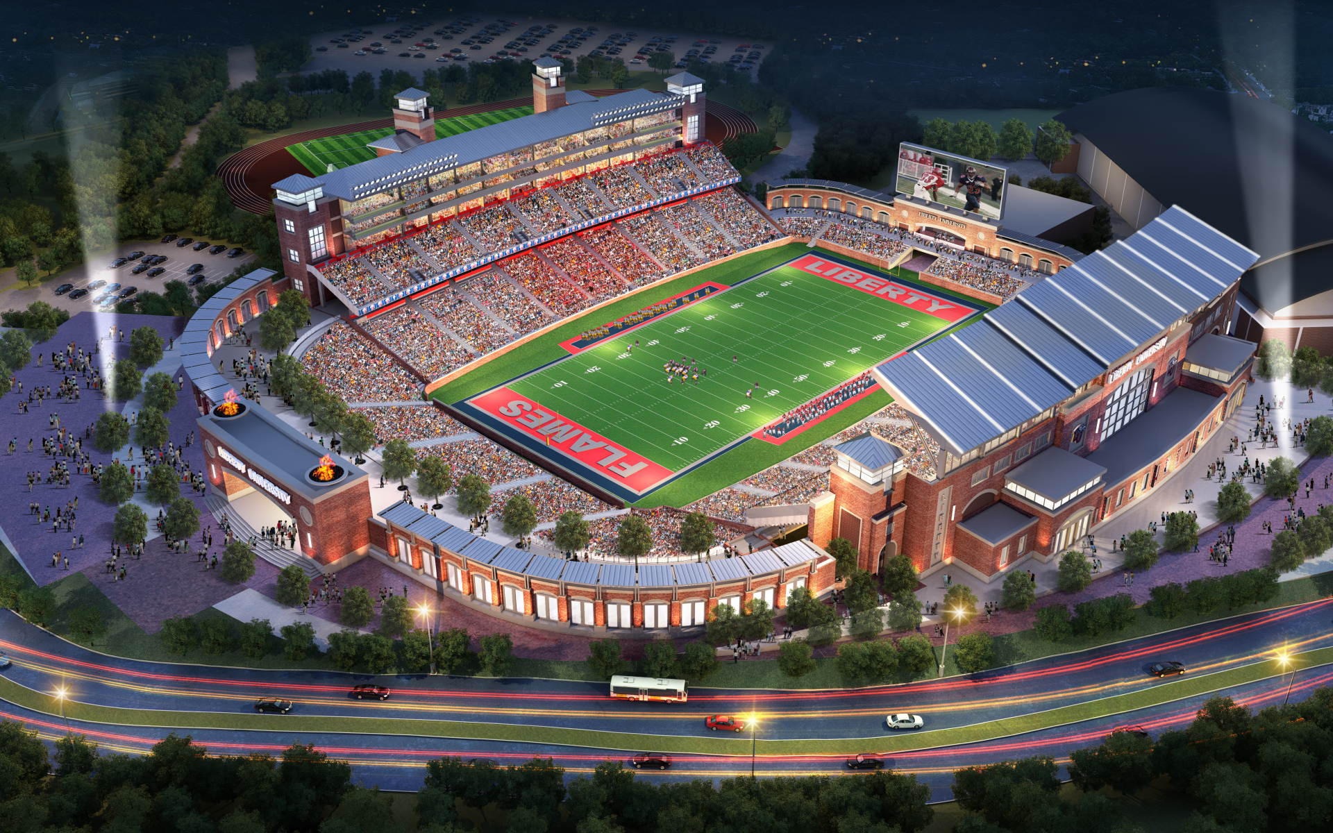 Liberty University Williams Stadium Expansion  ODELL