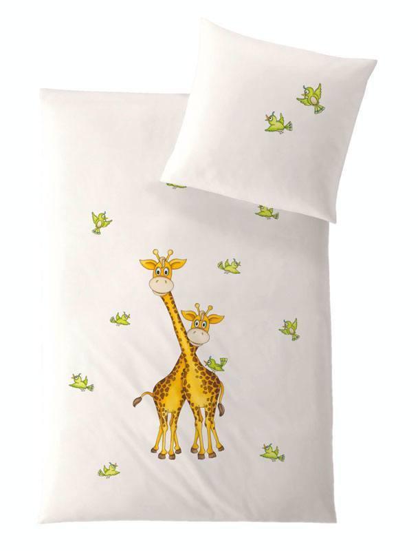 HEFEL Kinder Bettwäsche Giraffe
