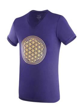 SENSISKIN V-Shirt Blume des Lebens