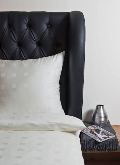 Weiche seidige elegante Luxus Hefel TENCEL® Lyocell Bettgarnitur Kissenbezug Bettwäsche Bettgarnitur Tuchent Deckenbezug Würfelmuster