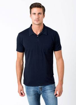 Sol Angeles Basic Polo Shirt kurzarm Herren mit TENCEL™ Lyocell