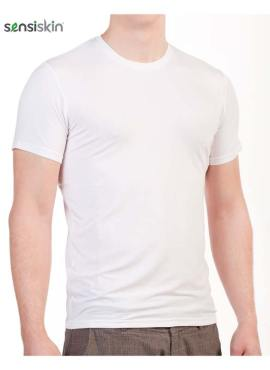 U-Shirt TENCEL™ Lyocell weiss
