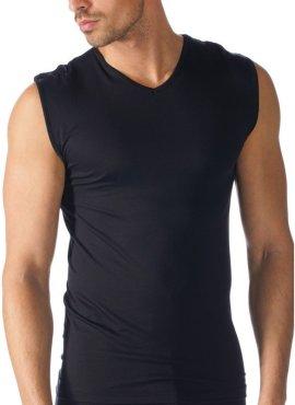 Mey Muscle Shirt schwarz 42537-123 vorne