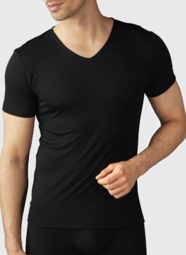 MEY Superior T Shirt schwarz