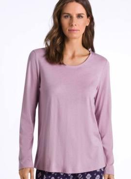 Hanro Sleep & Lounge Shirt langarm pale rose Modal