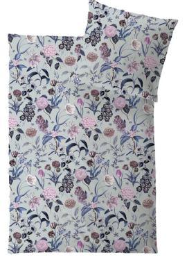 HEFEL Pure Luxury Bettwäsche Provence Trend aus TENCEL Lyocell Faser aus Holz weich, seidig, atmungsaktiv