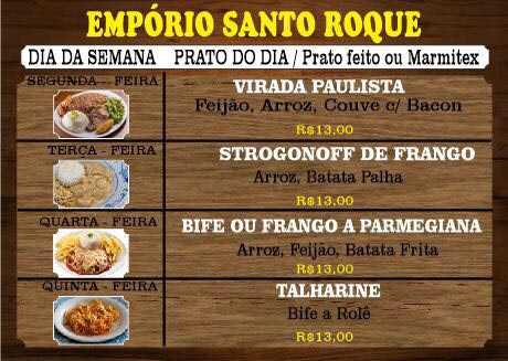 Emporio Santo Roque - Guia Comercial O Democrata