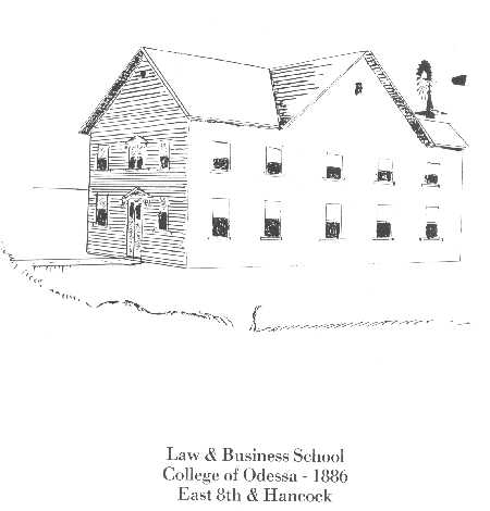 1886 Law and Business School in Odessa