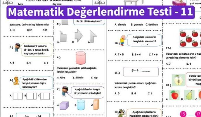 ilkokul_1_Sinif _Matematik_Degerlendirme_Testi_11_Ornek_Resim