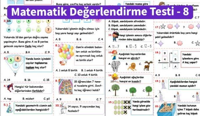 ilkokul_1_Sinif _Matematik_Degerlendirme_Testi_8_Ornek_Resim