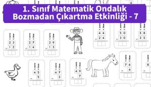 ilkokul_1_Sinif_Matematk_Ondalik_Bozmadan_Cikartma_Etkinligi_7_ornek_resim