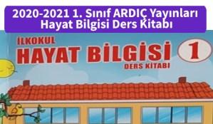 2020-2021_1_Sinif_ARDIC_Yayinlari_Hayat_Bilgisi_Ders_Kitabi
