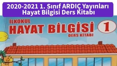Photo of 2020-2021 1. Sınıf ARDIÇ Yayınları Hayat Bilgisi Ders Kitabı PDF İndir