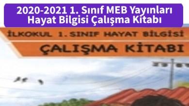 Photo of 2020-2021 1. Sınıf MEB Yayınları Hayat Bilgisi Çalışma Kitabı PDF İndir