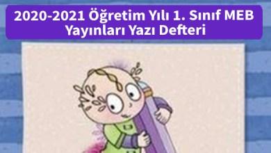 Photo of 2020-2021 Öğretim Yılı 1. Sınıf MEB Yayınları Yazı Defteri İndir
