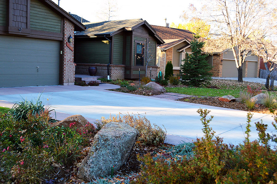 Arvada Driveway and Landscape Remodel