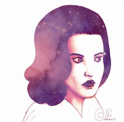 Portrait de Dana Scully de X-Files