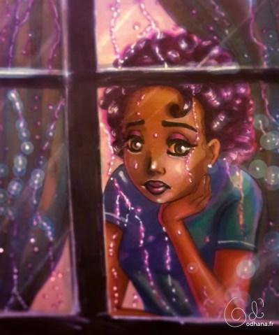 Purple rain, hommage à Prince