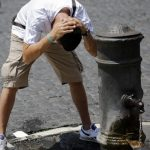 Foto Vincenzo Livieri - LaPresse  15-07-2015 - Roma - Italia  Cronaca Ondata di caldo e temperature elevate Photo Vincenzo Livieri - LaPresse  15-07-2015 - Rome -  Italy  News Heatwave hits Rome