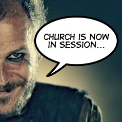 Floki at Church