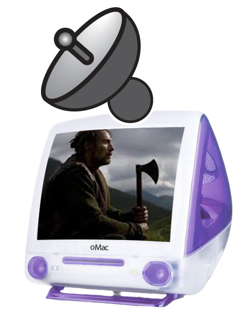 Purple Viking iMac