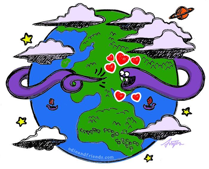 Love Around the World
