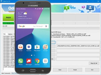 Descargar Odin Galaxy J7 verizon
