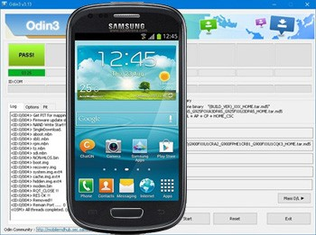 Odin para Samsung Galaxy S3 Mini VE