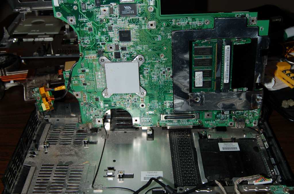 Disassembling an HP Pavillion ZE5500