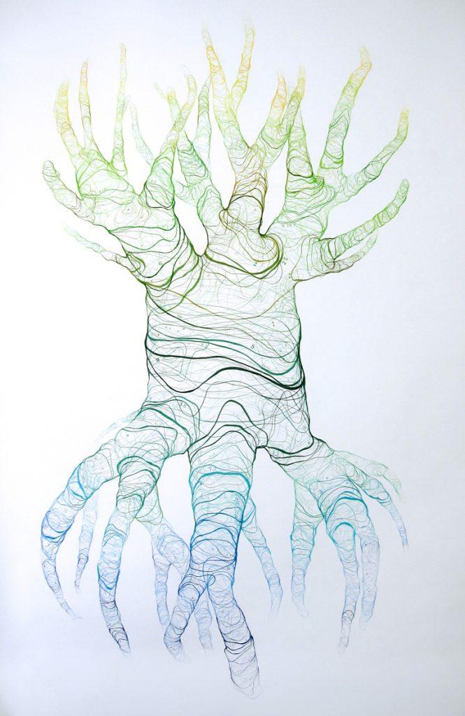 María Ortega Estepa Obra Mapping me