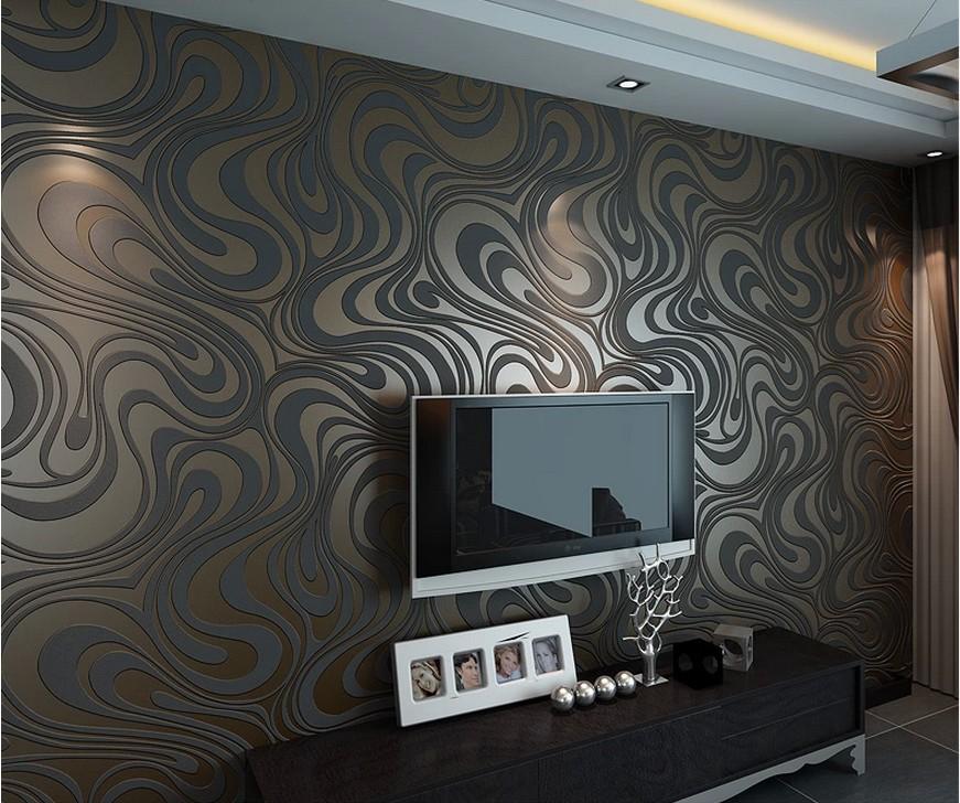3d Wallpaper For House Walls India Textiln 225 Reli 233 Fna Tapeta Na Stenu V čokol 225 Dovo Hnedej Farbe