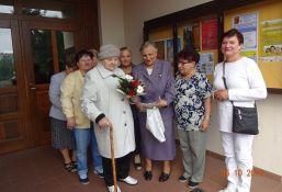 99 urodziny naszej współsiostry Zofii Sokołowskiej