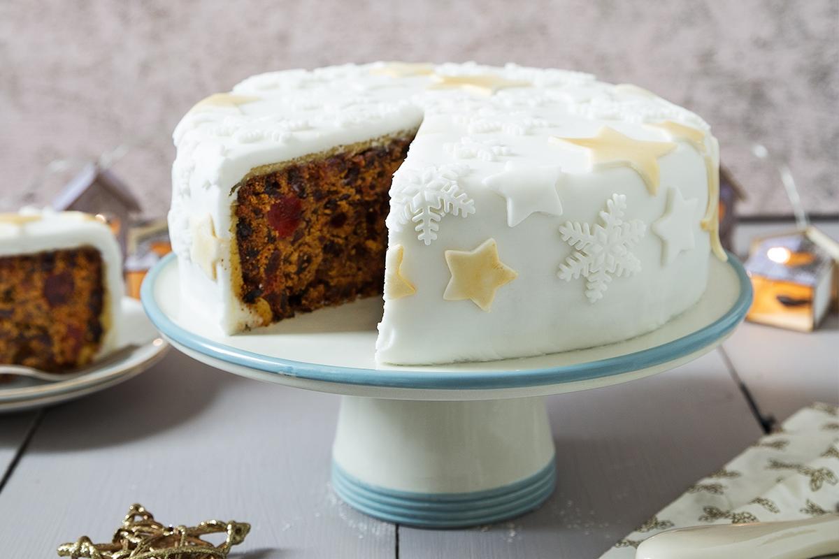 Christmas Cake Recipe For 8 Inch Round Tin