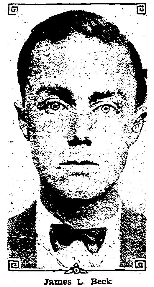 Policeman James L. Beck, Los Angeles Police Department