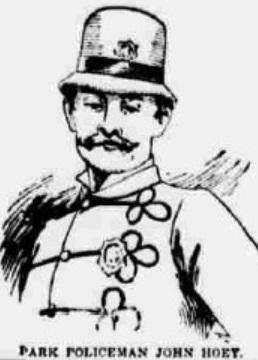 Patrolman John E. Hoey, New York City Police Department