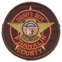 Franklin County Sheriff's Office, Georgia