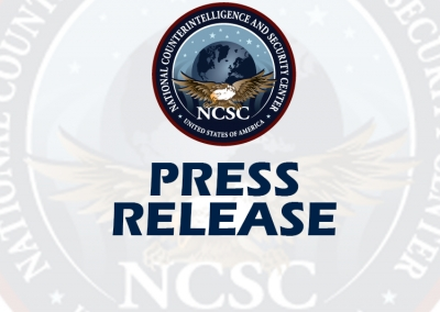 """NCSC Issues """"Insider Threat Mitigation for U.S. Critical Infrastructure Entities: Guidelines from an Intelligence Perspective"""""""
