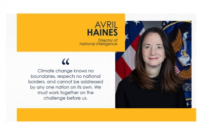 DNI Haines remarks at the 2021 Leaders Summit on Climate