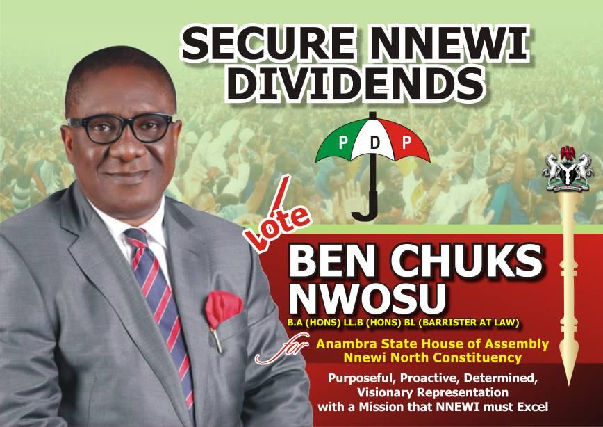 Support Hon. Barr. Benchuks Nwosu