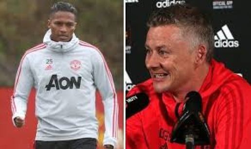 Antonio Valencia and  Solskjaer