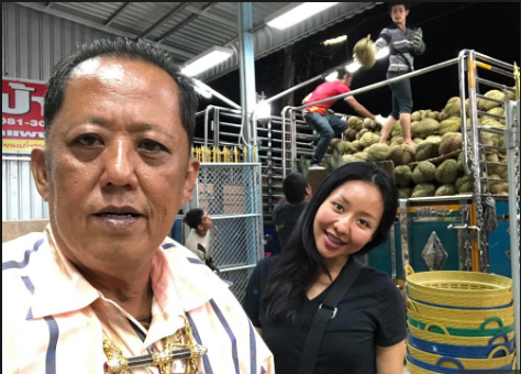 Mr. Arnon Rodthong,  and daughter   Karnsita
