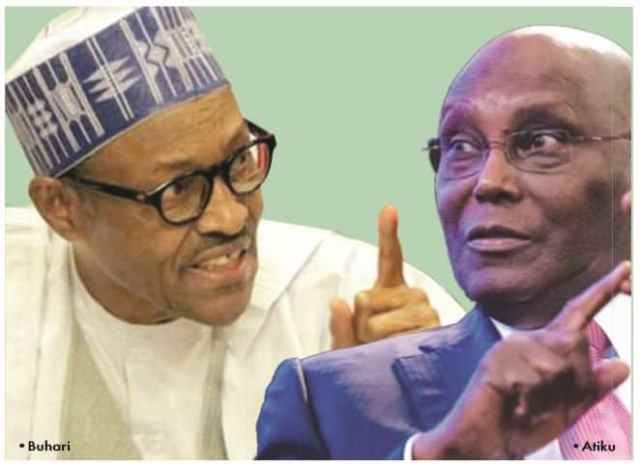 Buhari and Atiku trade words over who is qualified for presidential office