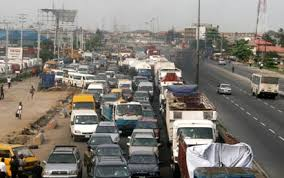 Gridlock at Apapa Lagos