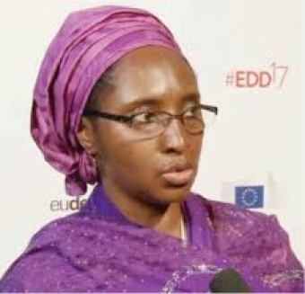 Minister of Finance, Mrs Zainab Ahmed