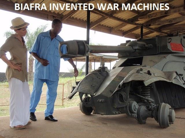 Biafra war machine