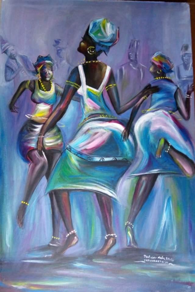 Paintings - Dancing