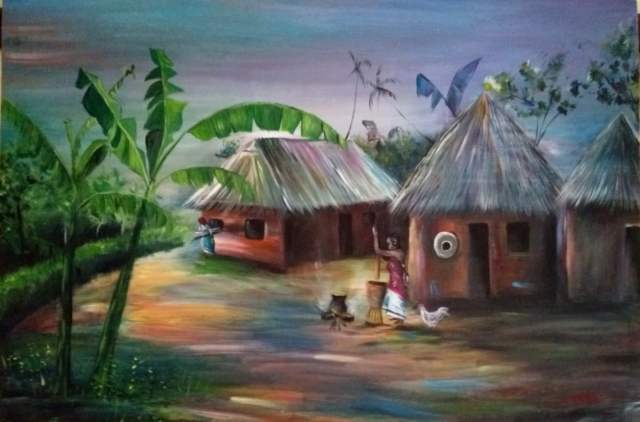Paintings - House